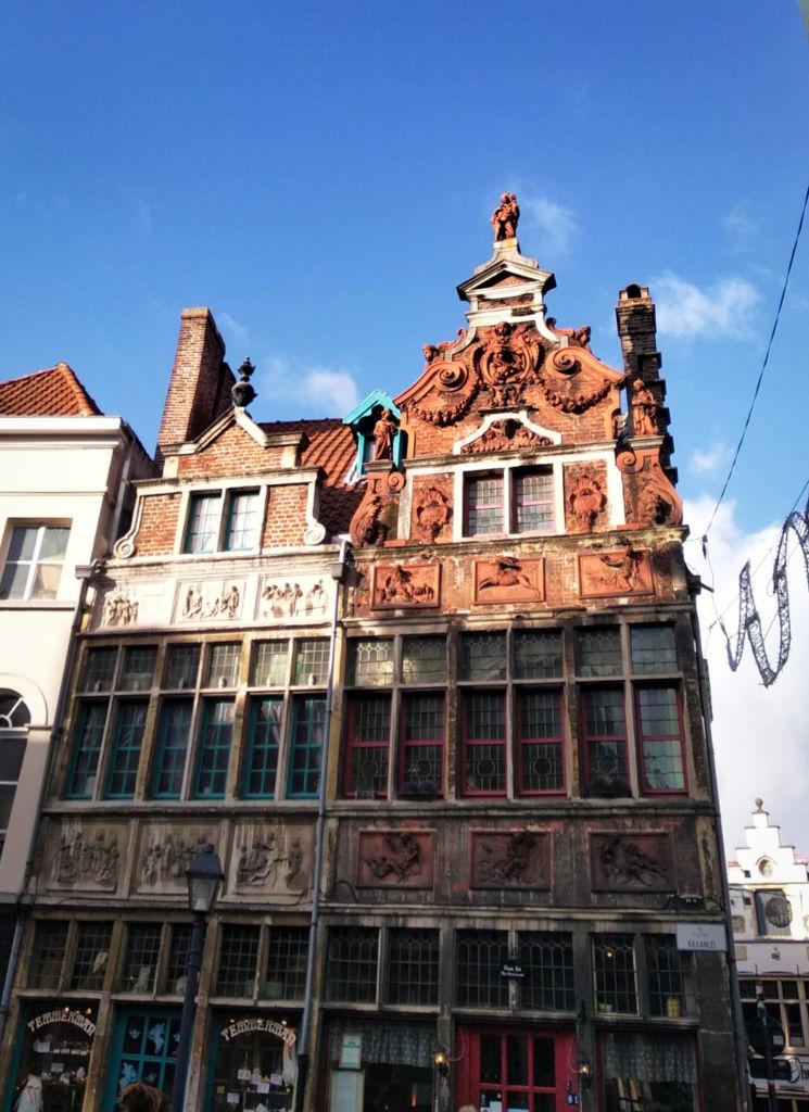 architecture flamande Gand