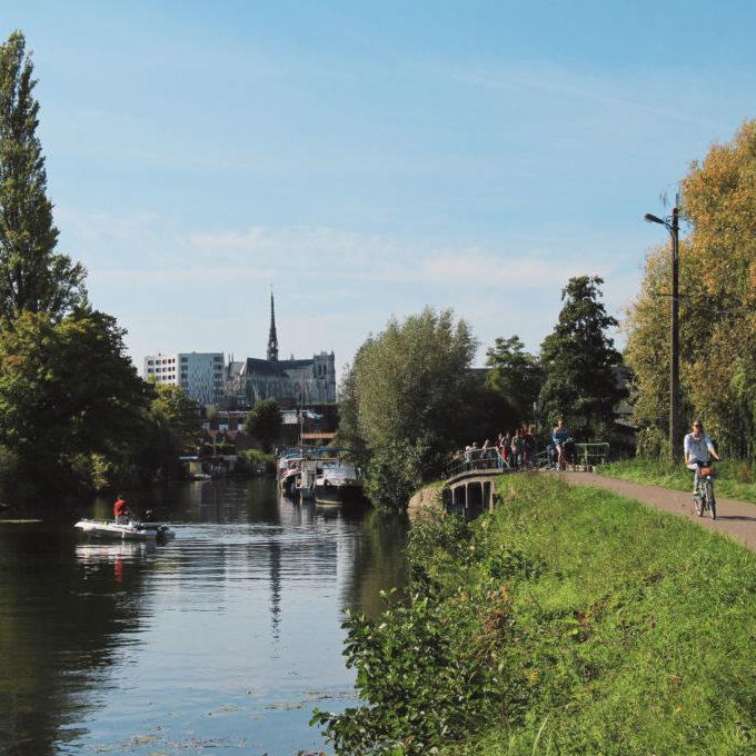 Chemin de halage Amiens