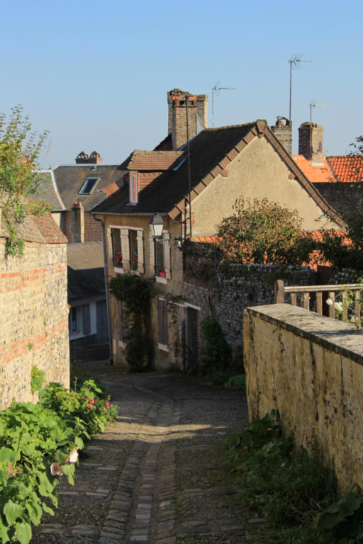 ruelle à Saint-Valéry
